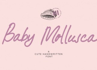 Baby Mollusca Font