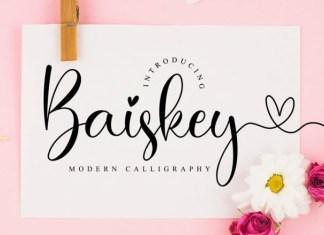 Baiskey Font