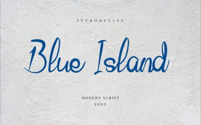 Blue Island Font