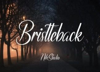 Bristteback Font