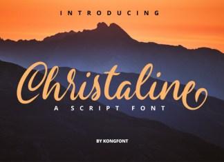 Christaline Font