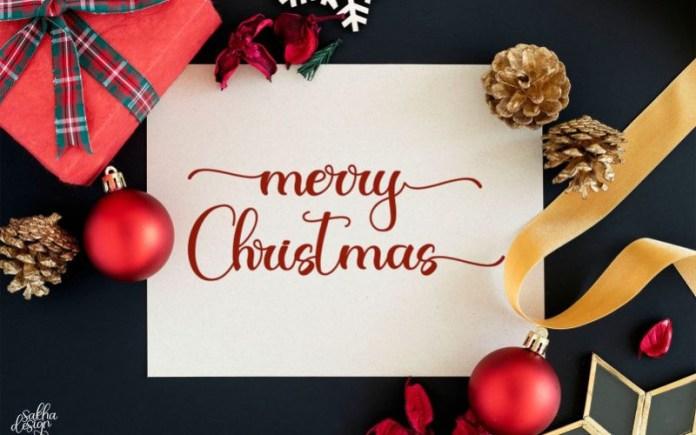 Christmas Night Font