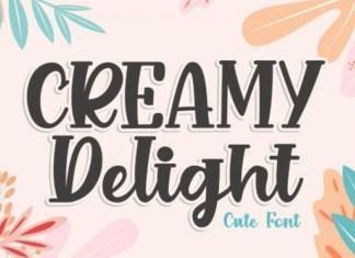 Creamy Delight Font