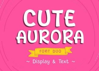 Cute Aurora Font