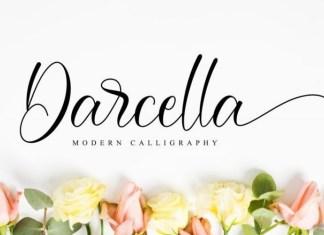 Darcella Calligraphy Font