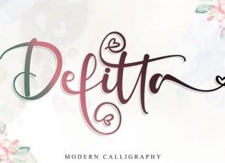 Defitta Font