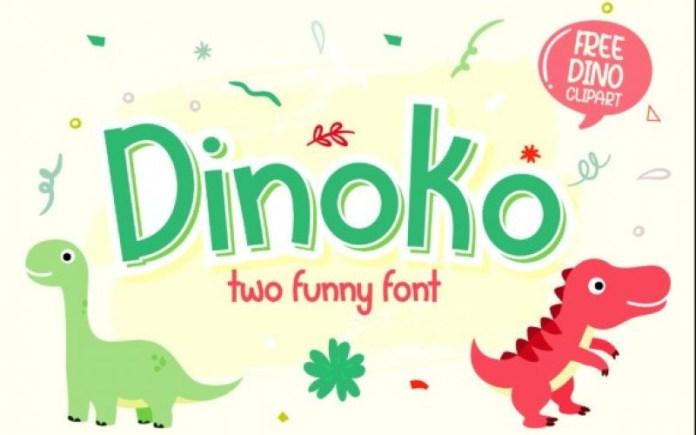 Dinoko Font