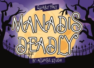 Manadis Deadly Font