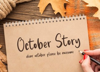 October Story Font