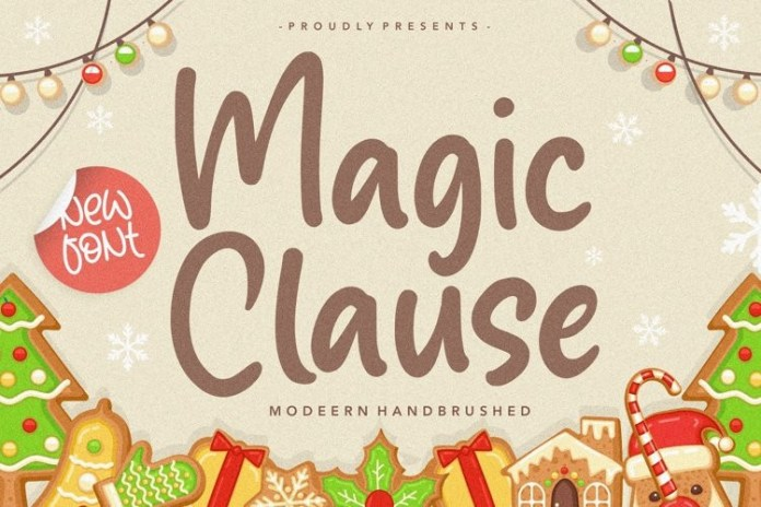 Magic Clause Font