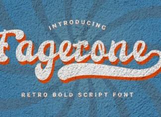 Fagetone Font