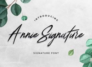 Annie Signature Font