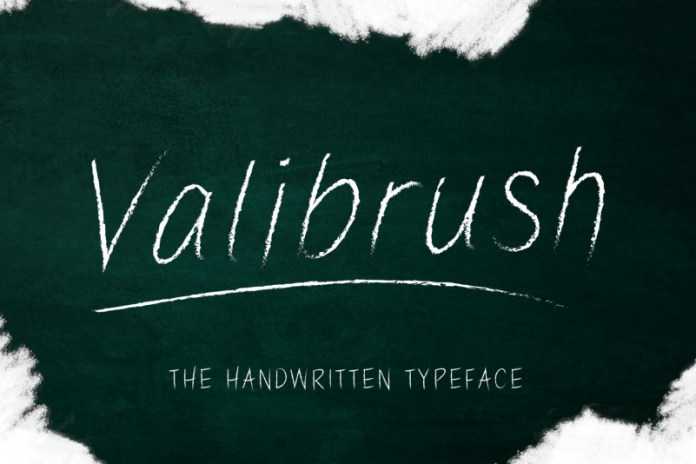 Valibrush Font