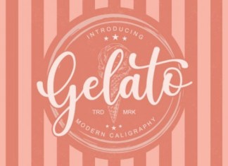 Gelato Font