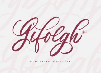 Gifolgh Font