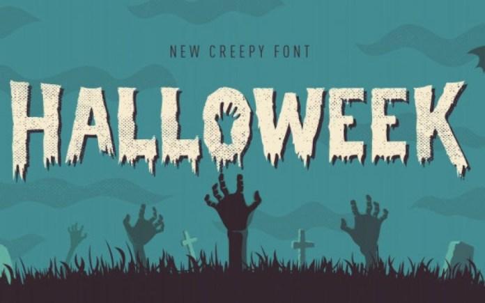 Halloweek Font