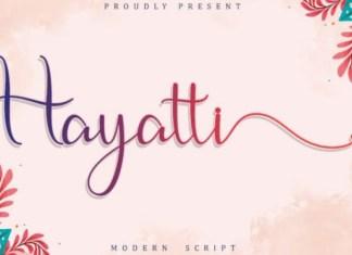 Hayatti Font