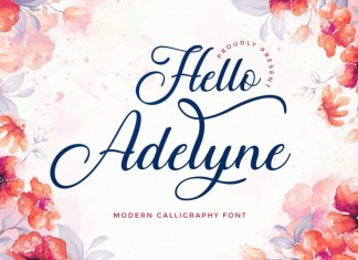 Hello Adelyne Font