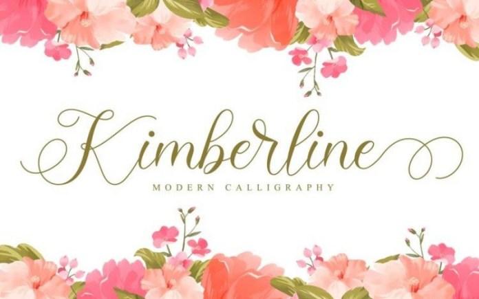 Kimberline Font