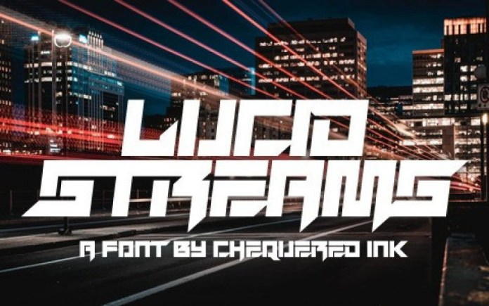 Lucid Streams Font