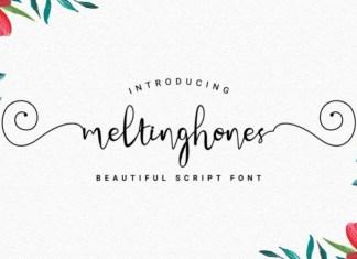 Meltinghones Font