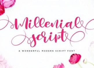 Millenial Font