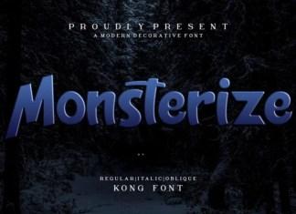Monsterize Font