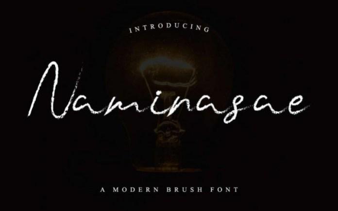 Naminasae Font