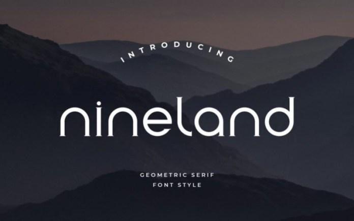 Nineland Font