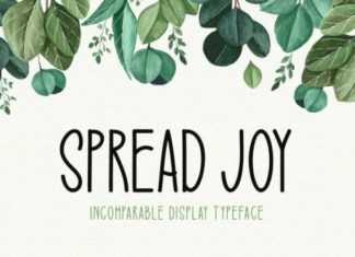Spread Joy Font