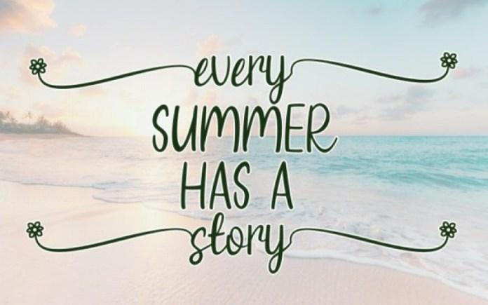 Summer Yesterday Font