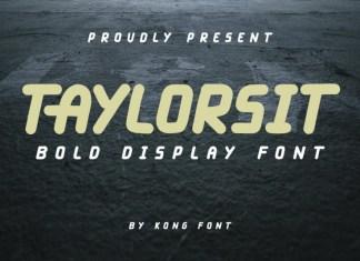 Taylorsit Font