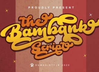 The Bambank Font