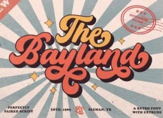 The Bayland Font