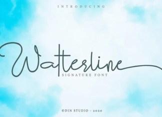 Watterline Font