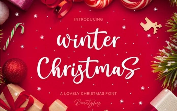 Winter Christmas Font