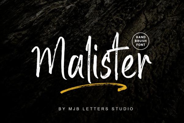 Malister Font