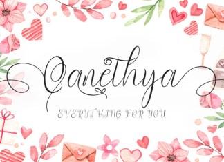 Qanethya Font