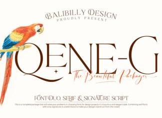 Qene G Font