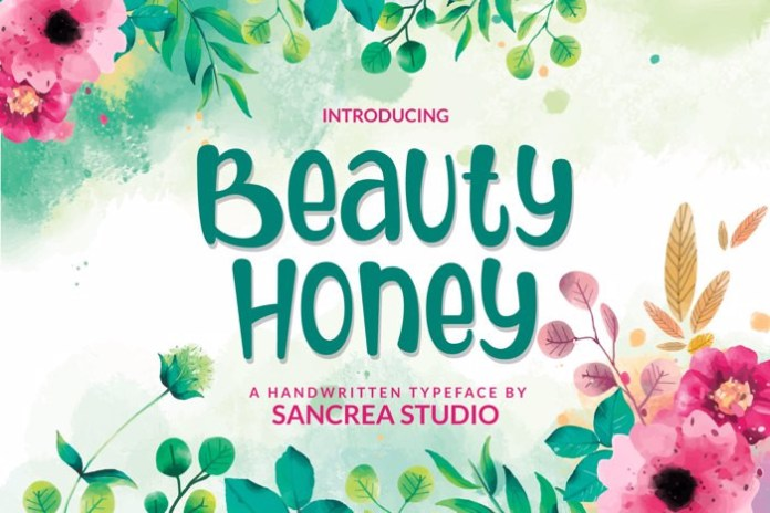 Beauty Honey Font