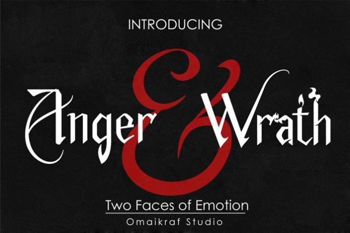 Anger And Wrath Font