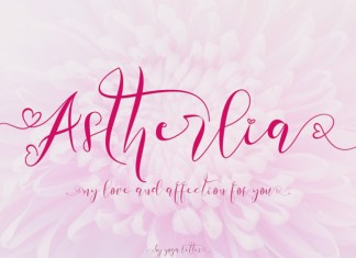 Astherlia Font