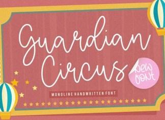 Guardian Circus Font