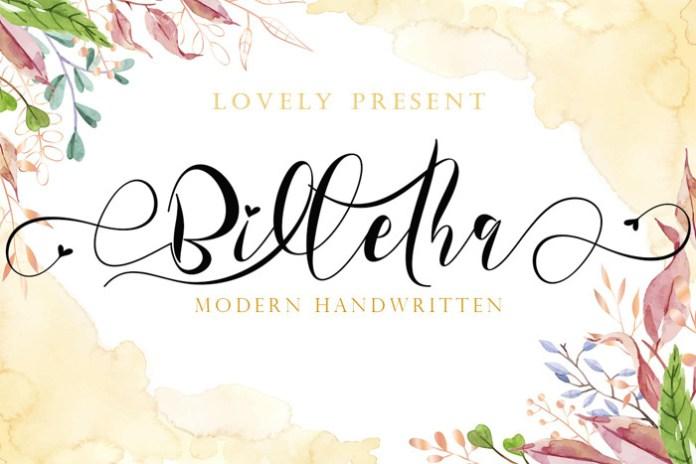 Billetha Font