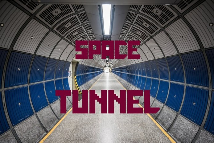 Galactica Space Grid Font