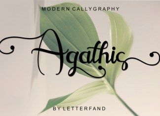 Agathis Font