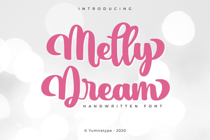 Melly Dream Font