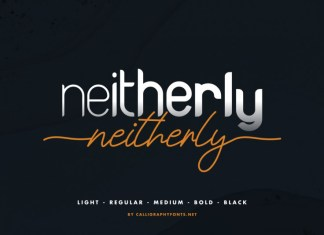Neitherly Font