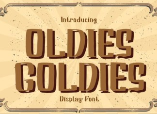 Oldies Goldies Font