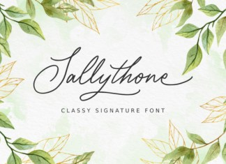 Sallythone Font
